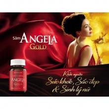 Sâm Angela Gold tăng cường sinh lý nữ - Hộp 15 viên - Angela Gold 15