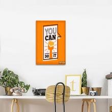 Tranh văn phòng you can do it TV16