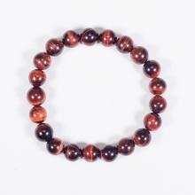 Vòng tay phong thủy nữ đá mắt hổ nâu đỏ 8mm mệnh hỏa, thổ - Ngọc Quý Gemstones