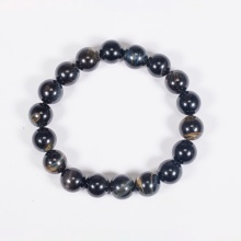 Vòng tay phong thủy đá mắt hổ xanh đen 10mm mệnh thủy, mộc - Ngọc Quý Gemstones