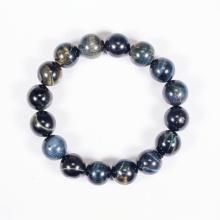 Vòng tay phong thủy đá mắt hổ xanh đen 12mm mệnh thủy, mộc - Ngọc Quý Gemstones