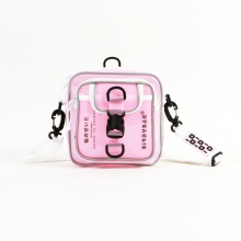 Túi đeo chéo birdybag square shape hồng