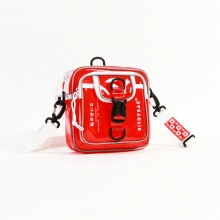 Túi đeo chéo birdybag square shape đỏ