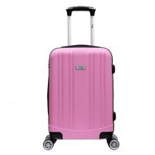 Vali chống bể Trip PP102 Size 60cm màu hồng (tặng 1 áo trùm vali vải dù xanh lá)