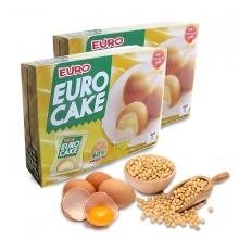 Bánh Euro Custard Cake nhân kem trứng 240g/hộp - Combo 2 hộp