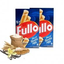 Bánh xốp Fullo vani sữa - Fullo stick Wafer Vanilla Milk 264g - combo 2 hộp