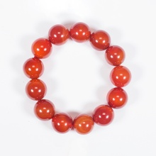 Vòng tay phong thủy nam đá mã não đỏ 16mm mệnh hỏa, thổ - Ngọc Quý Gemstones