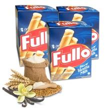 Bánh xốp Fullo vani sữa - Fullo stick Wafer Vanilla Milk 264g - combo 3 hộp