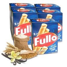 Bánh xốp Fullo vani sữa -  Fullo stick Wafer Vanilla Milk 264g - combo 5 hộp
