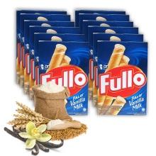 Bánh xốp Fullo vani sữa -  Fullo stick Wafer Vanilla Milk 264g - combo 12 hộp
