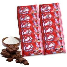Bánh xốp Fullo Pack Seru - Sô cô la 216g/túi (Túi 12 gói 18g) - hộp 12 túi