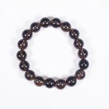 Vòng tay phong thủy đá thạch anh khói 10mm mệnh thổ, kim - Ngọc Quý Gemstones