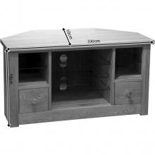 Tủ tivi góc Torino gỗ sồi - Cozino