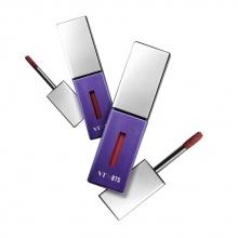 Son môi VT X BTS THE SWEET SPECIAL EDITION 01 Velvet Burgundy: đỏ nhung + 02 Rosy Peach: san hô