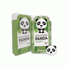 Mặt nạ dưỡng trắng, tái tạo, trẻ hóa da Rainbow L'affair  Brightening Panda Mask (10 miếng x 25ml)