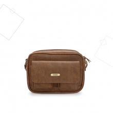 Túi đeo chéo nam chữ nhật Idigo MB2-408-00