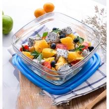 Hộp thực phẩm thủy tinh chịu lực Duralex Pháp Freshbox 610 ml