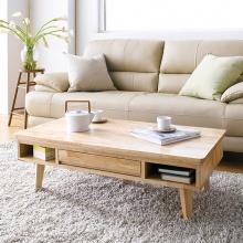 Bàn sofa Ixora gỗ cao su - Cozino