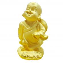 Hạnh Phúc Bình An - quà tặng mỹ nghệ Kim Bảo Phúc phủ vàng 24k DOJI