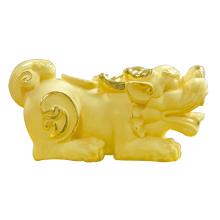 Tỳ Hưu Trấn Tài - Quà tặng mỹ nghệ Kim Bảo Phúc phủ vàng 24k DOJI