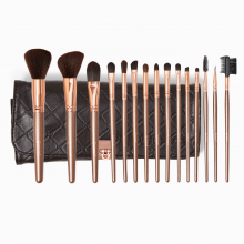 Bộ cọ Bh Cosmetics Rose Gold 15 Piece Brush Set With Holder