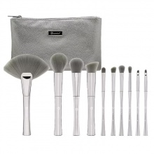 Bộ 10 cọ BH Cosmetics Smoke n Mirrors - 10 Piece Metalized Brush Set With Bag