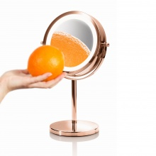 Gương tròn để bàn 2 mặt