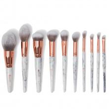 Bộ 10 cọ trang điểm BH Cosmetics Marble Luxe 10-Piece Brush Set
