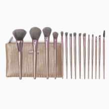 Bộ cọ trang điểm Bh Cosmetics Lavish Elegance 15 Piece Brush Set With Cosmetic Bag