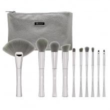 Cọ Bh Cosmetics Smoke 'n Mirrors - 10 Piece Metalized Brush Set