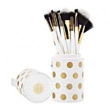 Bộ 11 cọ trang điểm BH Cosmetics Dot Collection – 11 Piece Brush Set White