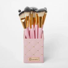 Bộ cọ 12 cây BH Cosmetics Pink Studded Elegance 12 Piece Brush Set with Holder