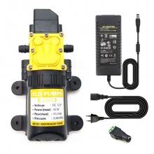 Bơm nước mini áp lực 12V 42W 4L XLD tự động kèm nguồn