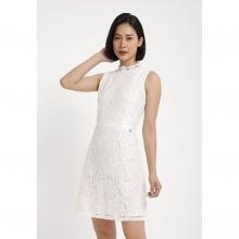 Đầm trắng phối ren Cotton Brothers CB06S192406-WH