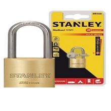 Ổ khóa hiệu stanley USA, đồng thau, càng dài, rộng 25mm - S742-041