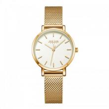 Đồng hồ nữ Julius Hàn Quốc JA-1164LF dây thép (vàng )