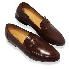 Giày lười nam da bò thật HS35