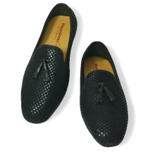 Giày lười nam da bò thật HS38