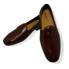 Giày lười nam da bò thật HS39