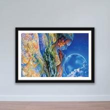 """Tranh trang trí """"Nữ thần thiên nhiên"""" tranh treo tường W4060"""