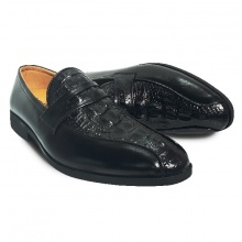 Giày tây nam da bò thật HS46