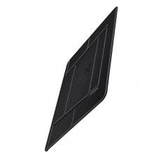 Dock tản nhiệt giá đỡ gấp gọn cho Laptop USAMS US-ZB072 Leather Foldable Holder (Black)