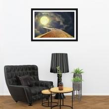 """Tranh trang trí """"Đường đến cung trăng"""" tranh phong cảnh W4076"""