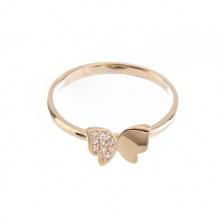 Nhẫn vàng DOJI cao cấp 14K 0819R-LAL039