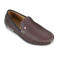 Giày da Pierre Cardin Brown Loafer - PCMFWLD037BRW màu nâu
