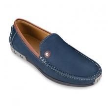 Giày da Pierre Cardin Brown Loafer - PCMFWLD037NAY màu xanh navy
