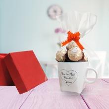 Cốc (ly) sứ chocolate quà tặng 20/10 SSCS001
