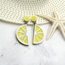Bông tai Hàn Quốc lemon - Tatiana - BH2905V (Vàng)