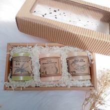 Quà tặng 20 tháng 10 - hộp quà xà phòng thiên nhiên nhân sâm, gấc, trà xanh
