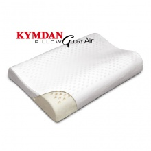 Combo 2 gối cao su thiên nhiên Kymdan Pillow Glory Air 60 x 38 x 8,5 - 5,5 - 8 cm